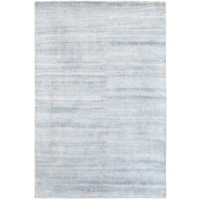 Runge Hand-Knotted Beige Area Rug Rug Size: Rectangle 56 x 86