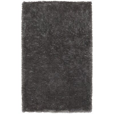 Holweg Hand-Tufted Gray Area Rug Rug Size: Rectangle 5 x 79