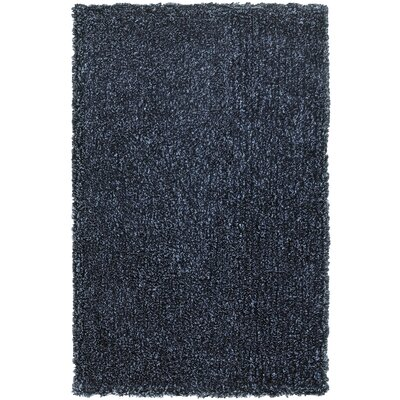 Holweg Hand-Tufted Navy Area Rug Rug Size: Rectangle 5 x 79
