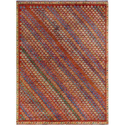 One-of-a-Kind Millender Chijioke Hand-Knotted Wool Rust Area Rug