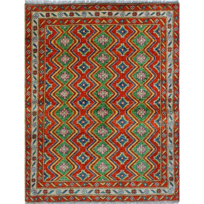 One-of-a-Kind Millender Ehioze Hand-Knotted Wool Rust Area Rug