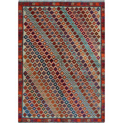 One-of-a-Kind Millender Uwimana Hand-Knotted Wool Ivory Area Rug