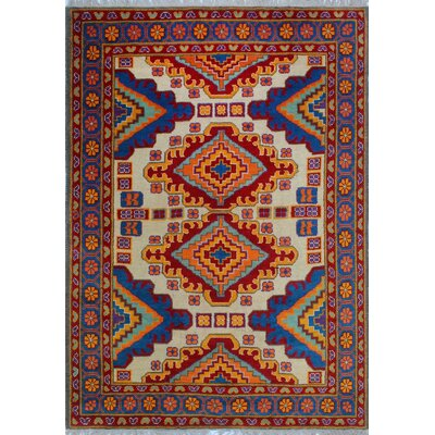 One-of-a-Kind Millender Luke Hand-Knotted Wool Ivory Area Rug