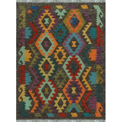 One-of-a-Kind Kratzerville Kilim Lucas�Hand-Woven Wool Gold Area Rug