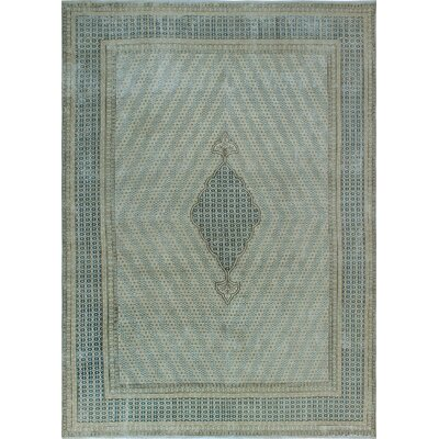 One-of-a-Kind Millner Distressed Njau Hand-Knotted Wool Beige Area Rug