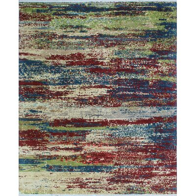 One-of-a-Kind Millman Enomwoyi Hand-Knotted Red Area Rug