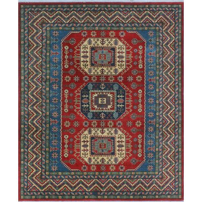 One-of-a-Kind Wendland Gabriel Hand-Knotted Wool Red Area Rug