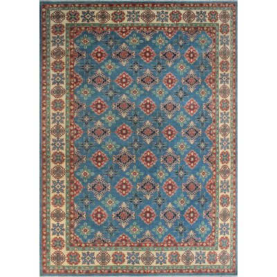 One-of-a-Kind Wendland Randy Lt. Hand-Knotted Wool Blue Area Rug