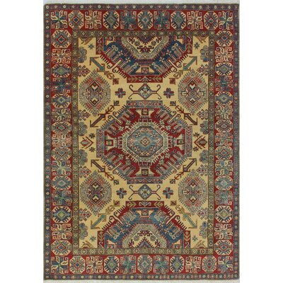 One-of-a-Kind Wendland Philip Hand-Knotted Wool Red Area Rug