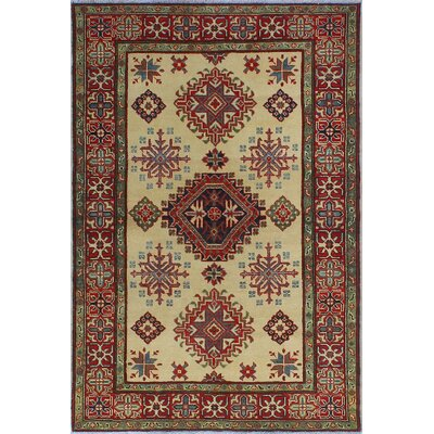 One-of-a-Kind Wendland Harry Hand-Knotted Wool Beige Area Rug