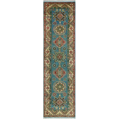 One-of-a-Kind Wendland Logan Hand-Knotted Wool Beige Area Rug