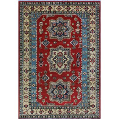 One-of-a-Kind Wendland Stephanie Hand-Knotted Wool Red Area Rug