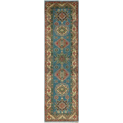 One-of-a-Kind Wendland Rebecca Hand-Knotted Wool Blue Area Rug