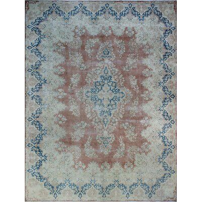 One-of-a-Kind Millner Distressed Nomusa Hand-Knotted Wool Rust Area Rug