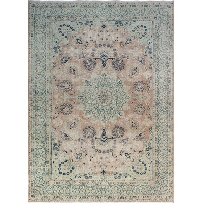 One-of-a-Kind Millner Distressed Adamma Hand-Knotted Wool Rust Area Rug