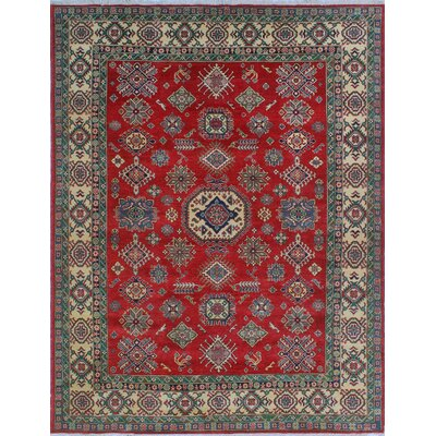One-of-a-Kind Wendland Osei Hand-Knotted Wool Red Area Rug