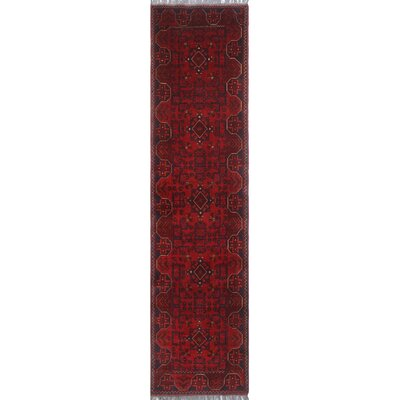 One-of-a-Kind Millar Doto Hand-Knotted Wool Red Area Rug
