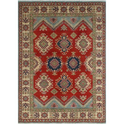 One-of-a-Kind Wendland Dylan Hand-Knotted Wool Red Area Rug