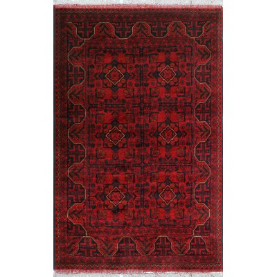 One-of-a-Kind Millar Salim Hand-Knotted Wool Red Area Rug
