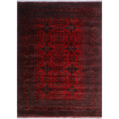 One-of-a-Kind Millar Ajani Hand-Knotted Wool Red Area Rug