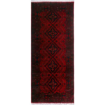 One-of-a-Kind Millar Nakisisa Hand-Knotted Wool Red Area Rug
