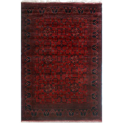 One-of-a-Kind Millar Ndulu Hand-Knotted Wool Red Area Rug