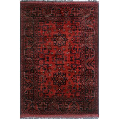 One-of-a-Kind Millar Kokumo Hand-Knotted Wool Red Area Rug