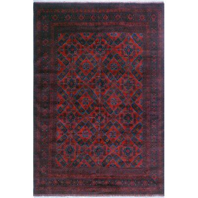 One-of-a-Kind Millar Obayana Hand-Knotted Wool Red Area Rug