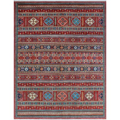 One-of-a-Kind Millard Ife Hand-Knotted Wool Red Area Rug