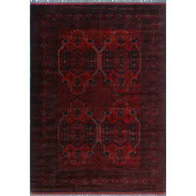 One-of-a-Kind Millar Celia Hand-Knotted Wool Red Area Rug