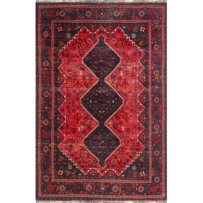 One-of-a-Kind Millay Sherazi Keyvan Hand-Knotted Wool Red Area Rug