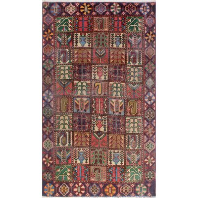 One-of-a-Kind Millay Sherazi Mina Hand-Knotted Wool Brown Area Rug