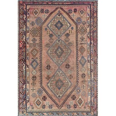 One-of-a-Kind Millay Sherazi Robabeh Hand-Knotted Wool Rose Area Rug