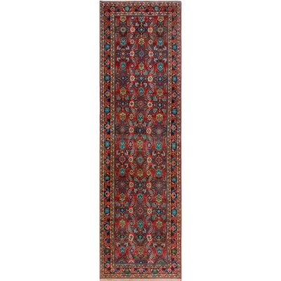One-of-a-Kind Millay Hamdan Farideh Hand-Knotted Wool Rose Area Rug
