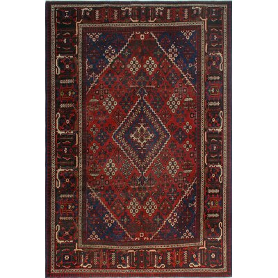 One-of-a-Kind Millay Sherazi Esmaeel Hand-Knotted Wool Red Area Rug