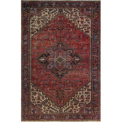 One-of-a-Kind Millay Heriz Elham Hand-Knotted Wool Red Area Rug