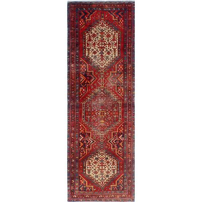 One-of-a-Kind Millay Sherazi Changeez Hand-Knotted Wool Red Area Rug