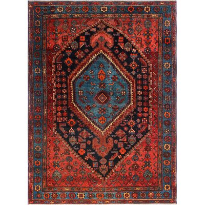 One-of-a-Kind Millay Cocasian Houri Hand-Knotted Wool Rust Area Rug