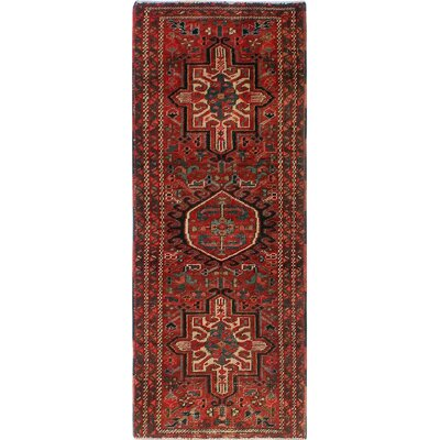 One-of-a-Kind Millay Heriz Mahnaz Hand-Knotted Wool Red Area Rug