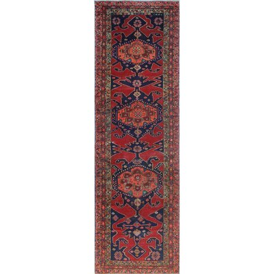 One-of-a-Kind Millay Sherazi Mahvash Hand-Knotted Wool Red Area Rug
