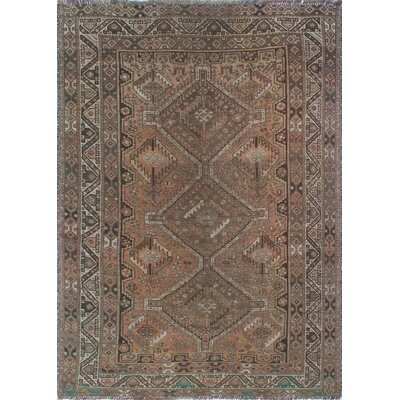 One-of-a-Kind Millet Semi Antique Fereshteh Hand-Knotted Wool Ivory Area Rug