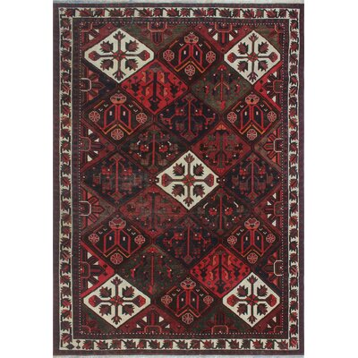 One-of-a-Kind Millay Bukhtiari Hand-Knotted Wool Red Area Rug