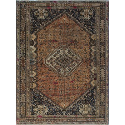 One-of-a-Kind Millet Semi Antique Ravan Hand-Knotted Wool Ivory Area Rug