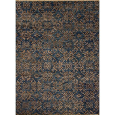 One-of-a-Kind Millican Fine Oushak Guilherme Hand-Knotted Wool Blue Area Rug