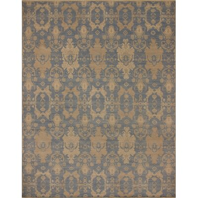 One-of-a-Kind Rothley Fine Oushak Aitana Hand-Knotted Wool Blue Area Rug