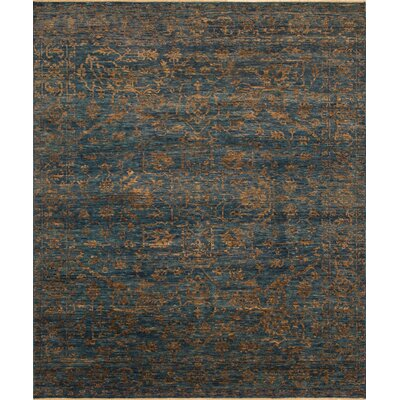 One-of-a-Kind Millican Fine Oushak Catalina Hand-Knotted Wool Blue Area Rug
