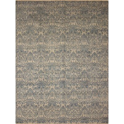 One-of-a-Kind Millican Fine Oushak Tiago Hand-Knotted Wool Gray Area Rug