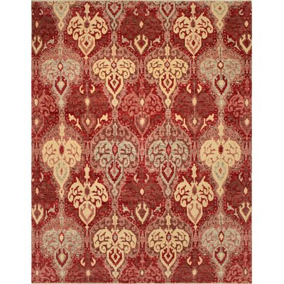 One-of-a-Kind Millican Fine Oushak Fabio Hand-Knotted Wool Red Area Rug
