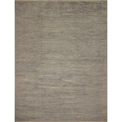 One-of-a-Kind Bernadine Fine Oushak Celio Hand-Knotted Wool Gray Area Rug