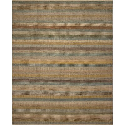One-of-a-Kind Wendel Fine Oushak Yasmin Hand-Knotted Beige Area Rug